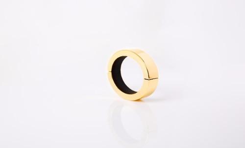 Small Polished Gold QBracelet