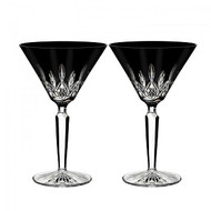Lismore Martini Glasses - Black