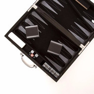The Carbon Fiber Series Game Set Backgammon set