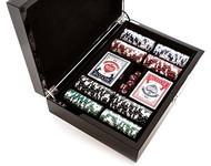 The Carbon Fiber Series Game Set Poker Set 200 chips