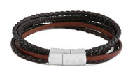 NEW! Multi-Strand Cobra Bracelet Stone - Medium