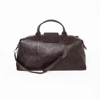 Stanford Brown Duffel Bag - Genuine Leather