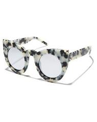 Wolves - Matte Snow Leopard Tort / Silver Mirror Lens