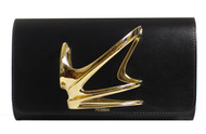 Zaha Hadid Strae - Black With Gold Handpiece Front
