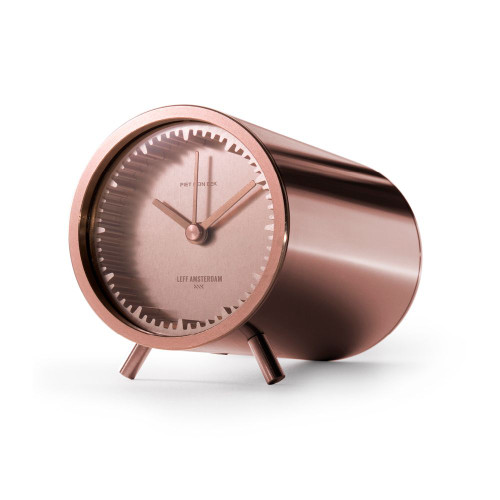 Tube Clock - Copper Side