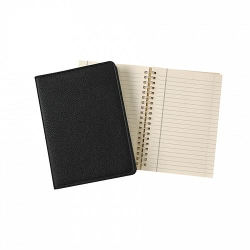 """7"""" Spiral Journal - Black"""
