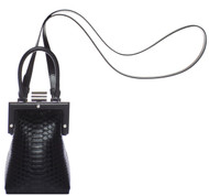 La Minaudiere - Black with Strap