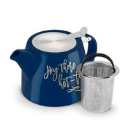 Harper Hey There, Hot-Tea Ceramic Teapot & Infuser S