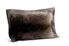 Raccoon and Leather Pillow - Front