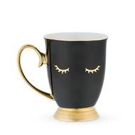 Holly Black Lash Mug