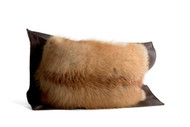 Red Fox Pillow - Front