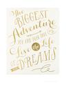 Desk Size Journal - Oprahs adventure