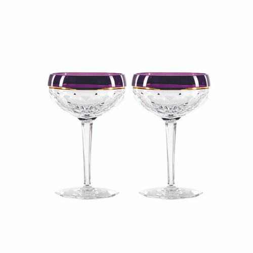 Elysian Saucer Champagne Purple