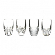 Assorted Clear Shot Glasses