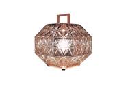 Treasure Table Lantern - Pink Gold