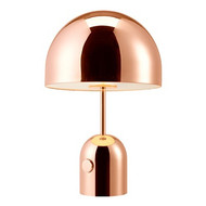 Bell Copper Table Light