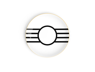 Teatro Bread and Butter Plate Top View