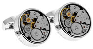 Skeleton Classic Round Cufflinks