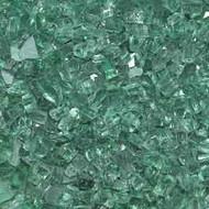 """HPC Fire Pit Glass - Evergreen 1/4"""" - 10 lbs (FPGLDARKGREEN)"""