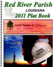 Red River Parish Louisiana Plat Book, OL-Red River