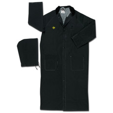 River City Black FR Duster Raincoat, FR267C