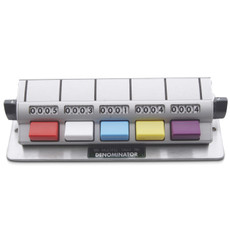 Denominator 5 Unit Tally Counter, MT-5