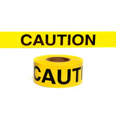 Presco Yellow Caution Barricade Tape - 743-1001