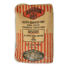 Floor Dry Clay Based Absorbent, 50 lb bag