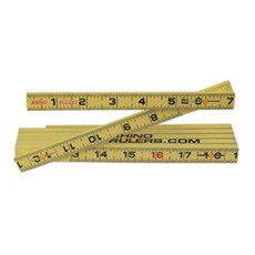 Rhino 6' Engineering Folding Ruler in 10ths, 55125
