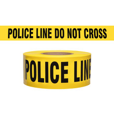 Presco Yellow Police Line Do Not Cross Barricade Tape - B3103Y11