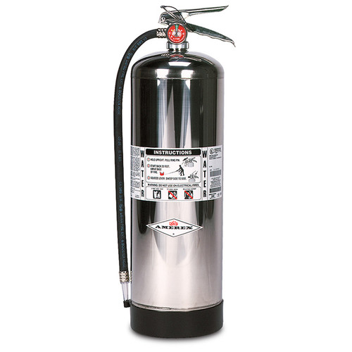 Amerex 2.5 Gallon Water Fire Extinguisher, 240