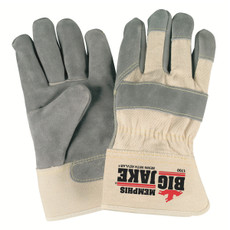 "Memphis Big Jake Leather Palm Gloves, 2.75"" Safety Cuffs, 1700"
