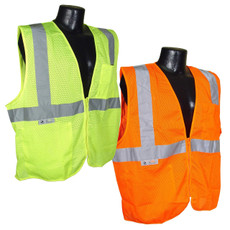 Radians Economy Class 2 Self Extinguishing FR Safety Vest, SV25
