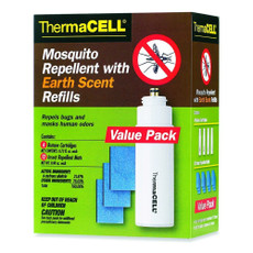 ThermaCELL Mosquito Repellent 48-Hour Refill Value Pack Earth Scent, E-4