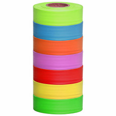 Presco Fluorescent / Glo Roll Flagging Tape