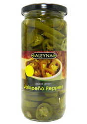 Aleyna - Sliced Green Jalapenos - 480g