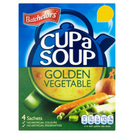 Batchelors Cup A Soup Golden Vegetable - 82g - Pack of 4 (82g x 4)
