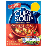 Batchelors Cup A Soup Minestrone - 94g - Pack of 4 (94g x 4)