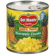 Del Monte Pineapple Chunks in Juice 425g
