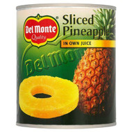 Del Monte Sliced Pineapple in Juice 435g Pack of 2