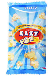 Eazy Pop - Salted Popcorn - 100g (Pack of 2)