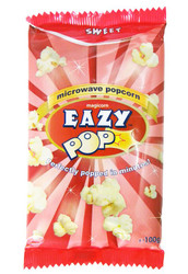 Eazy Pop - Sweet Popcorn - 100g (Pack of 2)