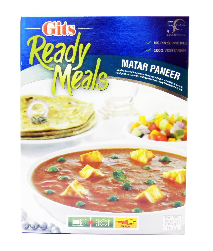 Gits Food Products List