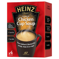 Heinz Cream of Chicken Cup Soup - 68g - Pack of 4 (68g x 4)