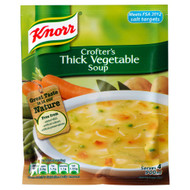 Knorr Crofters Thick Vegetable Soup - 75g - Pack of 4 (75g x 4)