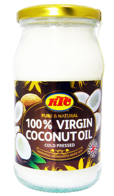 KTC - Pure 100% Virgin Coconut Oil - Cold Pressed - 500g