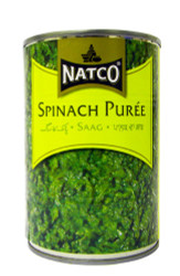 Natco - Spinach Puree - 395g (pack of 2)