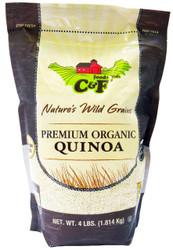 Natures Wild Grains - Premium Organic Quinoa Grains - Gluten Free (1.81kg)