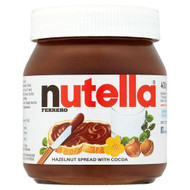 Nutella - Hazelnut Spread with Cocoa - 400g
