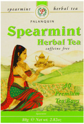 Palanquin - Spearmint Herbal Tea - 80g (pack of 2)